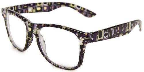 Brille Zocker Nerd-Brille Horn-Brille Wayfarer Sonnen-Brille Panto-Brille