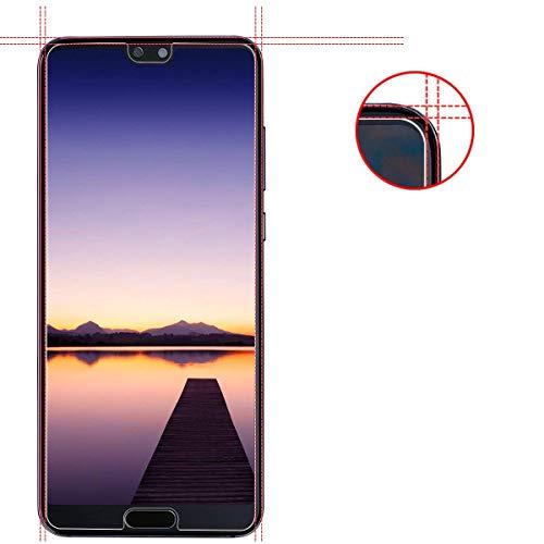 VICKSONGS (3Stück Schutzfolie für Huawei P20 Pro,[Ultra Clear] Displayschutzfolie (Nicht Glas) PET Soft Displayschutz [Anti-Bläschen][Anti-Fingerabdruck] Screen Protector für Huawei P20 Pro - 2