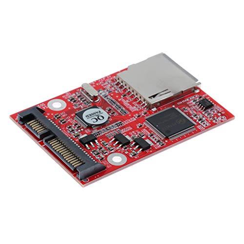 MagiDeal para SD SDHC Secure Digital MMC a SATA Adaptador CONVERTIDOR Soporte Windows