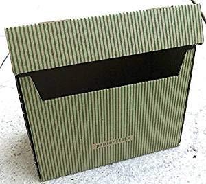 PapierTiger Karteikasten Streifen Kartonage, Auswahl:A6 grün