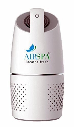 Airspa With Device Car Air Purifier With Hepa & Ioniser - Ce, Rohs & Iso 9001:2015 Certified
