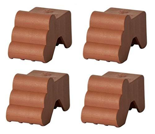 Füsschen Piedino für Pflanzkübel 4 Stück