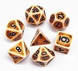 HD Dais DND - Set di dadi poliedrici per dungeons e draghi (D & D) Pathfinder MTG giochi d...