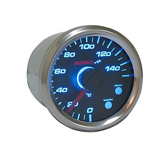 Koso Temperature Gauge GP Style D48 Thermometer max 150°C