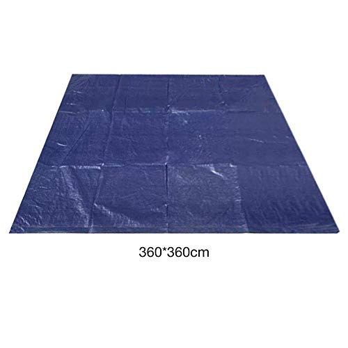 Reeseiy Pool Ground Cloth Pool Ground Sheet Fácil