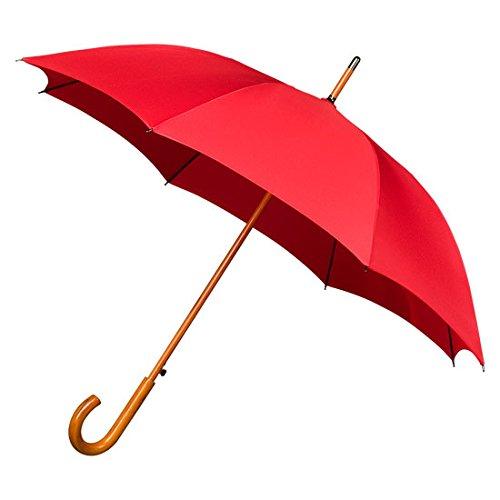 IMPLIVA Falcone Regenschirm, 102 cm, Rot