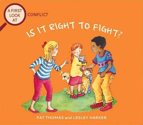 Conflict: Is It Right To Fight? (A First Look At Book 10) (English Edition)