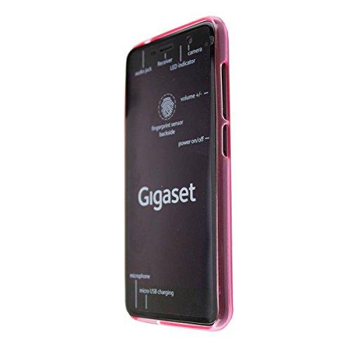 caseroxx TPU-Hülle für Gigaset GS160 / GS170, Handy Hülle Tasche (TPU-Hülle in pink)