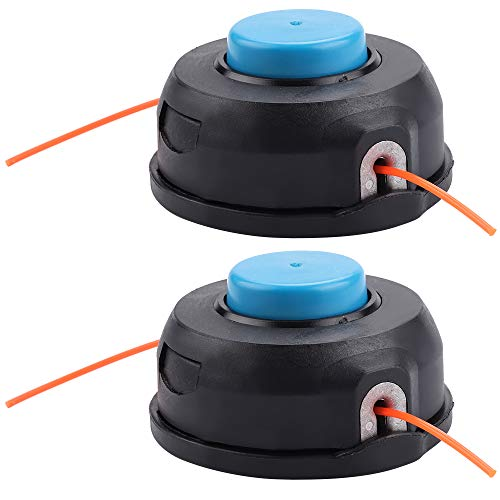 Kuupo (2 Pack 966674401 T25 HVA Universal Trimmer Head for 223L 223R 125C 125L 125LDX 128R 128RJ String Trimmer BC2128 CC2126 CC2128 GTS2228 Brushcutter Weed Eater