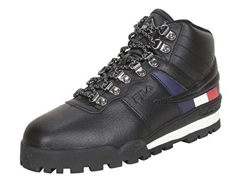 Fila Men's Fitness Hiker Mid Boots Black/White/Red 11