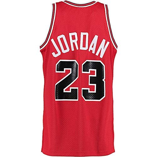 Legend Mens 23 Jersey Sports Basketball Jerseys Retro Athletics Jersey Red(S-XXL) (M)