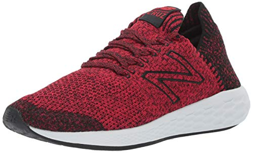 New Balance Men's Cruz V2 Sockfit Fresh Foam Running Shoes, Team red/Black, 9.5 D US
