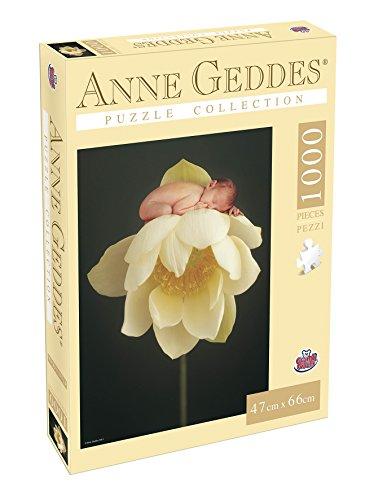 Grandi Giochi gg90111–Puzzle Anne Geddes 1000Stück, Flower