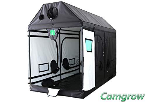 Budbox Pro Loft, Roof Series Grow Tents - White Or Silver Lining (White - XXL-R - 240x120x180)