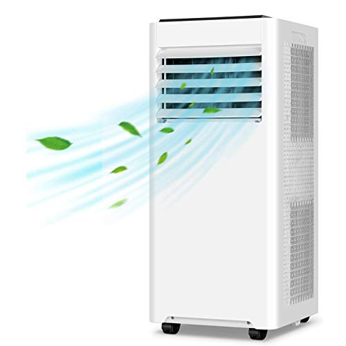 WSN 9000 Btu Mobile Klimaanlage, 2,6 kW bewegliche Klimaanlage, 3-in-1 Klimaanlage Ventilator und Luftentfeuchter, Für Privatanwender
