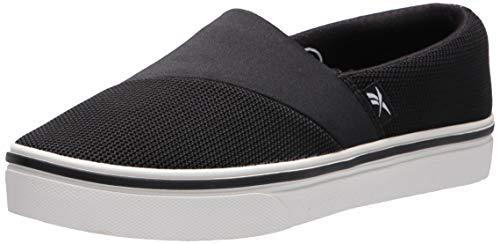 Reebok womens Katura Walking Shoe, Black/White, 5.5 US