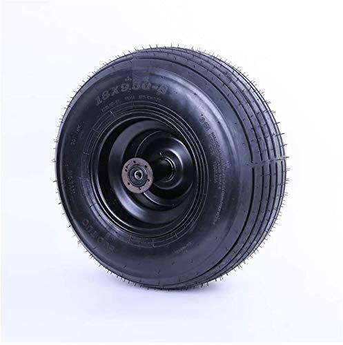 Neumáticos de scooter eléctricos, neumáticos neumáticos de revestimiento 18x9.50-8, antideslizante ancho y resistente al desgaste, adecuado for la locomotora de vehículos eléctricos Harley Neumáticos