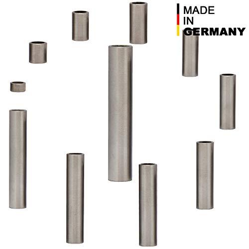 4 unidades casquillos distanciadores hembra distanciadores de casquillos di/ámetro exterior 15 mm Casquillos distanciadores de aluminio M10 /Ø interior 10,5 mm FASTON