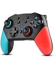 Switch Controller, Imponigic Wireless Pro Controller Gamepad Compatible with Switch Support Amibo, Wakeup, Screenshot and Vibration Functions-Black