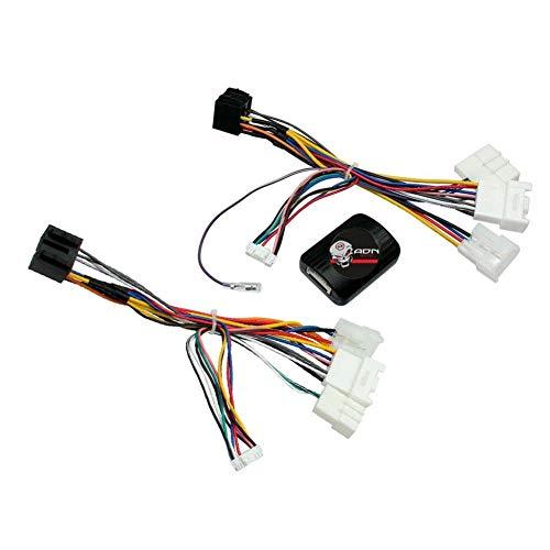 Interface Commande au volant TYCAMP compatible avec Toyota 98-16 Ampli JBL Centrale seule