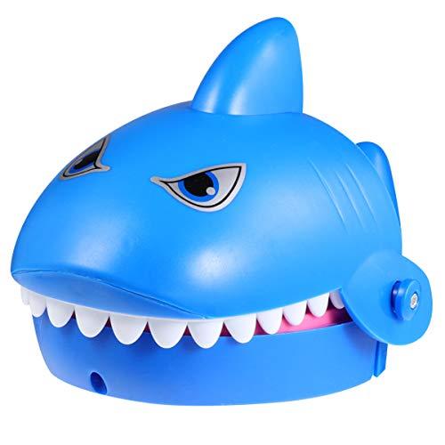 TOYANDONA Haifischzahn Spielzeug Spiel Zahnarzt Beißen Finger Spaß Witz Spielzeug mit Ton Und Licht Weihnachtsfeier Gefälligkeiten für Kinder Kinder