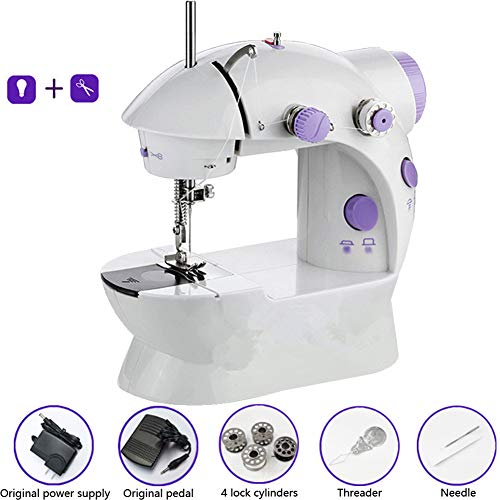 Read About KIKTS Electric Small Household Sewing Machine,12 Stitch Multi-Function Lightweight Stitch...