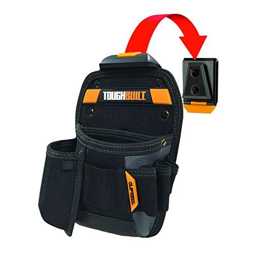 TOUGHBUILT Holster 3 Fächer mit Clip-System  Gürteltasche Werkzeugtasche  TOU CT