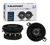 Blaupunkt GTX350 3.5-Inch 200W 2-Way Coaxial Car Audio Speaker, Set of 2