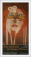 ポスター ジャック プレヴェール Papillon 1987 額装品 ウッドハイグレードフレーム