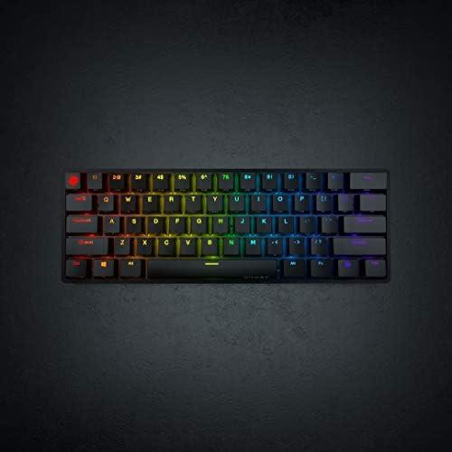 Ghost K1 - Wireless Keyboard Black Cherry MX Brown (Soft ...