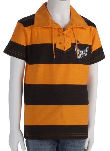 Die Wilden Kerle Retro-Trikot, orange-schwarz, Größe 164