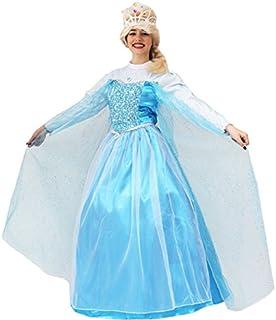 2ed36e3c7829 Pegasus Vestito Costume Maschera di Carnevale - Principessa Elsa - Frozen -  Adulti - Taglia L