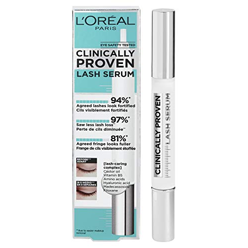 L'Oréal Paris Clinically Proven Lash Serum that Leaves Lashes Feeling Soft and More Conditioned