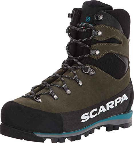 SCARPA Grand Dru GTX Waterproof GORE-TEX Hiking Boots for Mountaineering and Backpacking – Forest – 9