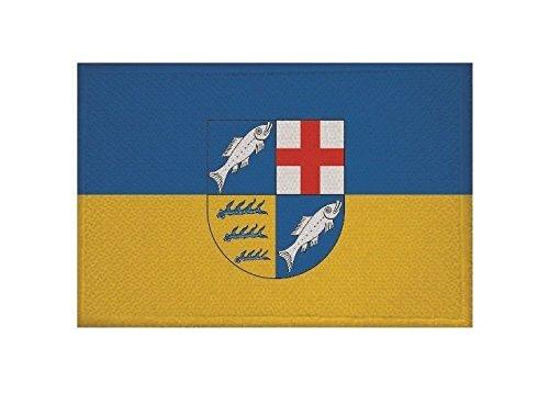 U24 Aufnäher Landkreis Konstanz Fahne Flagge Aufbügler Patch 9 x 6 cm