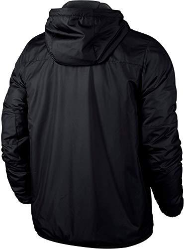 NIKE Yth's Team Fall Jacket Sport jacket, Niños, Negro (Black/ Anthracite/ White), XS