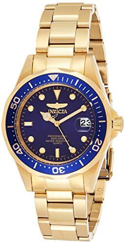 "Invicta Men's 8937 ""Pro Diver"" 18k Gold Ion-Plated Bracelet Watch"