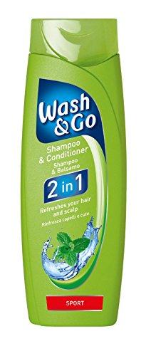 Wash & Go 2in 1Sport Shampoo und Pflegespülung X 9Flaschen