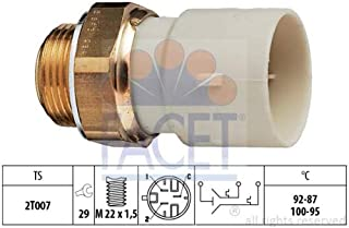 Ventola radiatore Facet 7.5663 Termocontatto