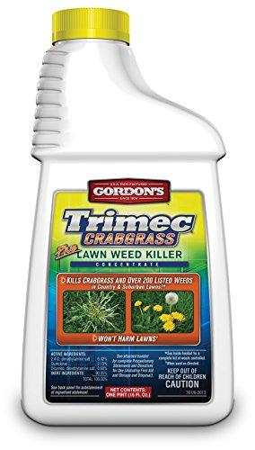 GORDON'S Trimec Crabgrass Plus Lawn Weed Killer Concentrate, 1 Pint, 761140