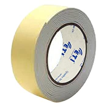 ETI Double Side Foam Tape 12mmX5Meter Set of 144