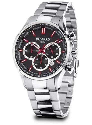 Reloj Duward Caballero Acero 10ATM/ 44MM Caja. D95526.04