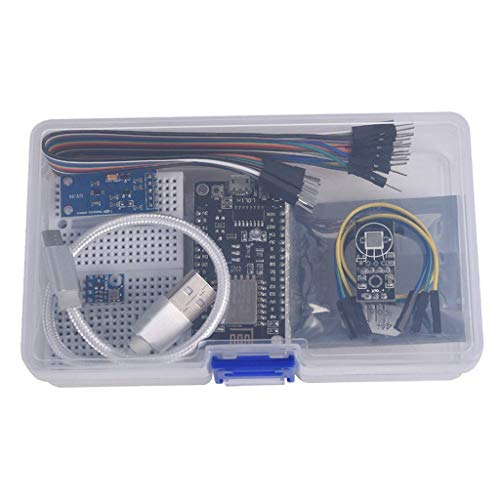 FITYLE 1 Set ESP8266 Stazione Meteo Kit con 0.96 Pollici OLED IIC Display per IDE Starter