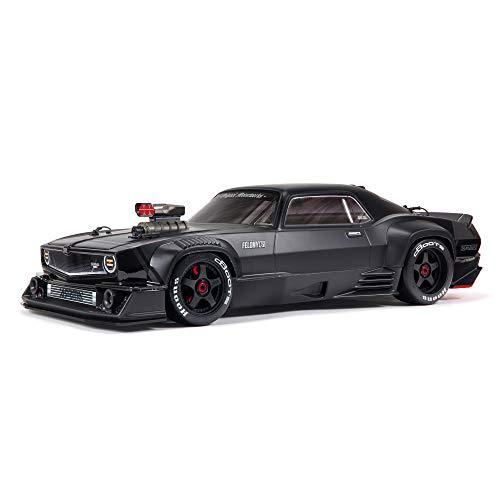 ARRMA 1/7 Felony 6S BLX Street Bash All-Road Muscle Car RTR...