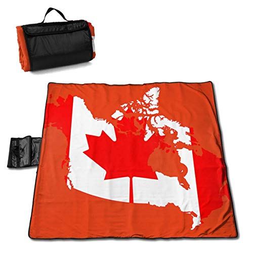 GuyIvan Strand Picknick Decke Flagge Karte von Greater Canada Handy Mat Leichte Tote Musik Festivals Quick Dry Bag
