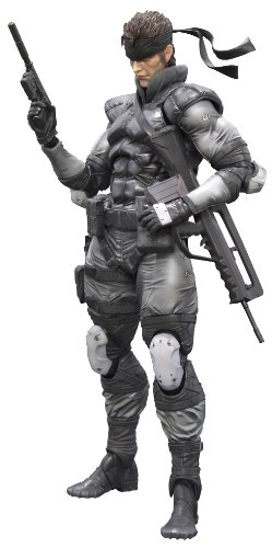 Figurine 'Metal Gear Solid' Play Arts Kai - Solid Snake