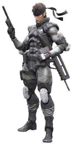 Figurine 'Metal Gear Solid' Play Arts Kai - Solid Snake [Importación francesa]