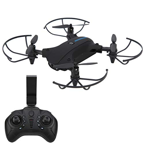 Oreilet Drone, Drone RC Pieghevole, Quadcopter Air Pressure Quadcopter WiFi FPV Drone RC Pieghevole Black Mini 4K Camera Drone per Bambini