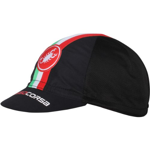Castelli - Cap Performance Cycling, color negro