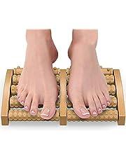 Wooden Foot Roller Wood Care Massage Reflexology Relax Relief Massager Spa Gift Foot Massage